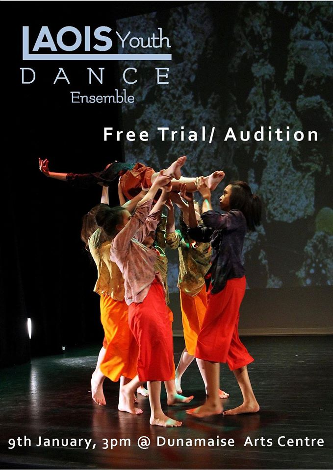 dance audition in Ireland for lyde